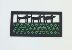 Caroline Rees Limited Edition Papercut - Procession