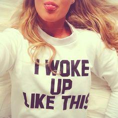 I woke up like this <3 http://goo.gl/XJOwpM
