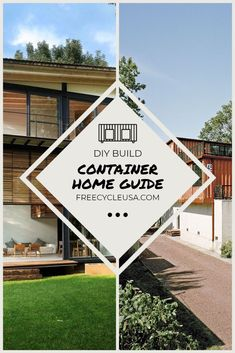 Introduction to Designing a Shipping Container House  #containerhome #container house #freecycleusa