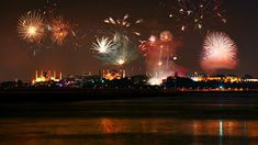 Fireworks illuminate Istanbul on New Year's Eve. Happy New Year 2014, Turkey Travel, New Years Eve, Vows, Fireworks, Google Images, Christmas Bulbs, Ceiling Lights, Concert