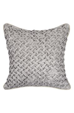 Villa Home Collection 'Nebra' Grey Pillow