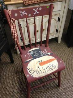 Christmas chair                                                                                                                                                                                 More