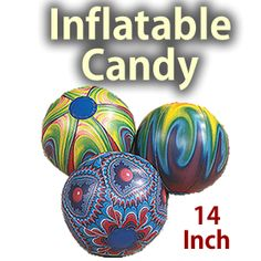 h3 style=text-align: center Inflatable 14 Candy Props/h3 div This inflatable candy prop is great for a candy themed party./div div /div div Price is for 12 candy props./div