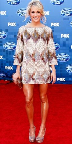 oh this dress! carrie underwood, why can't i be you...