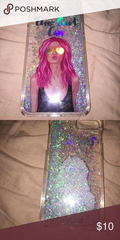 Pink glitter case Pink glitter iPhone 7 Plus case Accessories Phone Cases