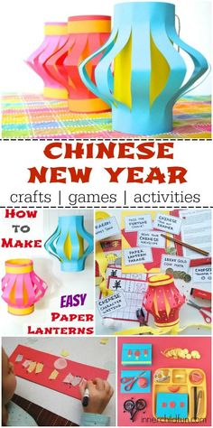 Chinese New Year -- crafts, games, and activities!