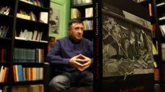 Gervasio Sánchez y su obra premiada.