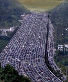 405 freeway southbound (Los Angeles Area) How long does it take to get home from work? Way too long!