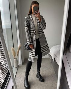Winter Fashion Outfits, Work Fashion, Fall Outfits, Autumn Fashion, Cute Casual Outfits, Stylish Outfits, Look Office, Look Blazer, Inspiration Mode