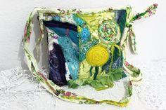 Green denim bags Boho Cross bag Handmade denim by Nazcolleccolors Bag Jeans, Denim Bag, Jeans Fabric, Linen Fabric, Get Paid To Shop, Hobo Purses, Hippie Bags, Hipster Shirts, Inside Bag