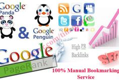 Bookmarking Service   SEO Service - Submitting manually is your best choice for your website to get bookmarked properly in order to gain traffic and get indexed in Google and other search engines. Including Top Social Bookmarking Sites like StumbleUpon,Reddit,Delicious,Slashdot,and more. http://fiverr.com/tinamoran