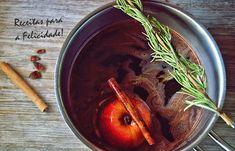 Receitas para a Felicidade!: Vinho Quente com Chocolate e Especiarias