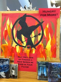 Hungry for More? Hunger Games display