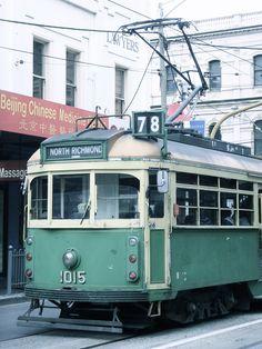 Much loved  'W class ' tram Melbourne Australia