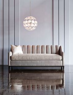 Sectional Sofas Barrymore Furniture Neville Channel Back Sofa u The Neville Collection u