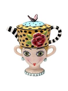 Appletree Design Lady Lux Tea for One Set, Teapot Rests on Top of Tea Cup, 8-Inch Appletree Design,http://www.amazon.com/dp/B00371VLMU/ref=cm_sw_r_pi_dp_M3RFtb0B22SDFZJV