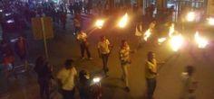 Habitantes de Guerrero exigen justicia tras hallazgo de fosa en Ayotzinapa.
