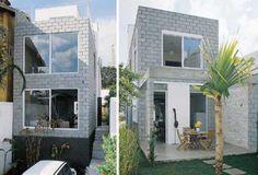 Casas charmosas sem pintura 007