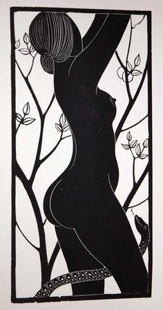 Nude by Eric Gill