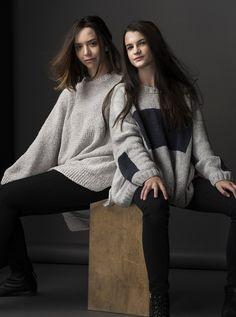 HANIA by Anya Cole Marley Sweater and Box Sweater Fall/Winter 2015