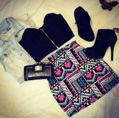 Cute fashion style