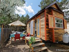 Bending over backwards for this Bend, Oregon, tiny house! #Vacation #Rental