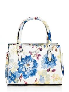 MINI SAC A MAIN LOREE A FLEURS | GUESS.eu Sacs Design, Luxury Sunglasses, Mini Handbags, Designer Handbags, Buy Now, Tote Bag, Purses, Floral, Stuff To Buy