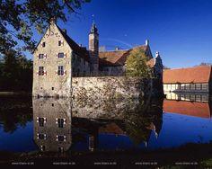 Burg Vischering in Lüdinghausen, Germany