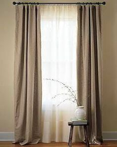 Resultado De Imagen Two Layered Curtains Bedroomcurtainsmodern White Double