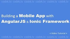 Tutorial Video Building a Mobile App with AngularJS and Ionic...  Tutorial Video Building a Mobile App with AngularJS and Ionic Framework Tutorialhttps://codek.tv/7009  #mobileapp via http://ift.tt/1led2by