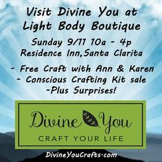 Tomorrow!  Come see us and other amazing vendors. Soak up some good vibes. #lightbodyboutique #santaclarita #boutique #fair