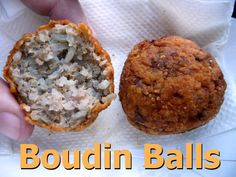 Louisiana Boudin Balls - It's one of the most delicious things we have in Louisiana. Description from pinterest.com. I searched for this on bing.com/images