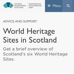 UNESCO World Heritage Sites in Scotland