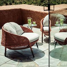 Outdoor lounge chair - outdoor furniture in Dubai, UAE | Dedon -   Ahnda