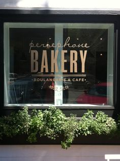 delight by design: New Kid on the Block {Persephone Bakery}