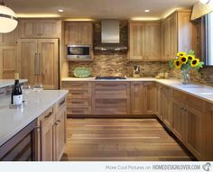 love these kitchens on this site