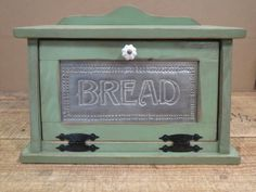 Sunflower Punched Tin Bread Box Cottage by ForegoneConclusions