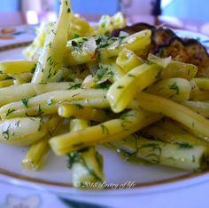 poetry of life : Zelená fazuľka na masle s bylinkami alebo Citrónové rezy nebudú, dnes bude diétka
