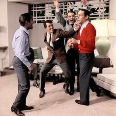 :: The Rat Pack | These fellas make Christmas music awesome! ::