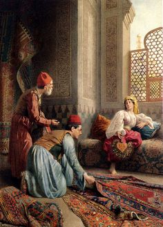 Carpet Sellers Turkey @@@@......http://www.pinterest.com/dianademeridor/when-shopping-was-an-art/ @@@@@@