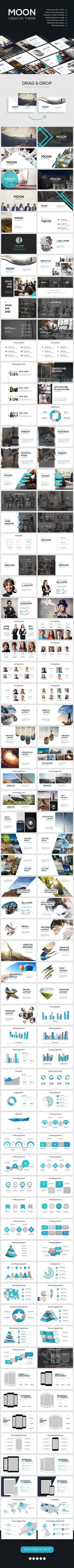 Moon Killer Powerpoint Template • Only available here ➝ http://graphicriver.net/item/moon-creative-theme/16281844?ref=pxcr