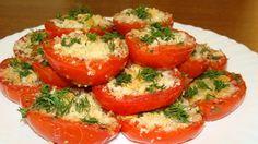 Просто восхитительное блюдо! Безумно вкусное и ароматное. Готовится быстро и элементарно, практически из ничего. Отличное сочетание помидоров, хрустящей сверху начинки и аромата итальянских трав!