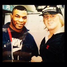 Mike Tyson & Owen Hart