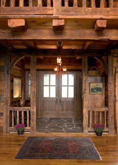 Wooden Lodge – Amazing Pictures - Amazing Travel Pictures with Maps for All Around the World