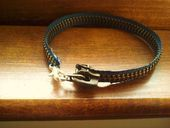 Zipper bracelet from www.cutoutandkeep.net