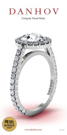 Capri Jewelers Arizona ~ www.caprijewelersaz.com Diamond Engagement Ring Style #XE101 @#JCKEvents