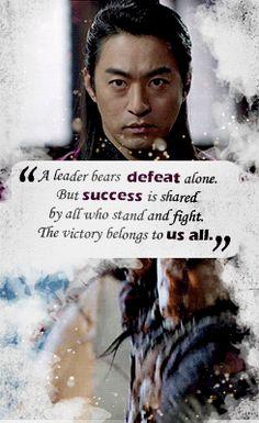EMPRESS KI QUOTES Wang Yu Quoted...