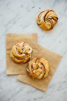 Twisted cinnamon rolls
