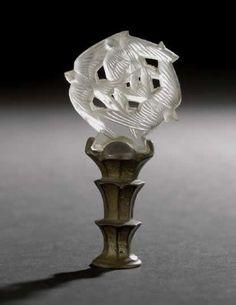 R. Lalique Hirondelles Cachet Seal