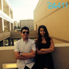 Photo: Paris Berelc And Bradley Steven Perry Hanging Out Together April 24, 2014